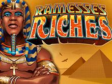 Играть на механизм Богатство Рамсеса