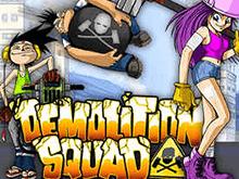 игровой автомат Demolition Squad / Команда Демонтажников / Отряд Разрушителей